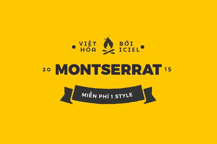 Trọn bộ 18 Font Montserrat Việt Hóa miễn phí – hướng dẫn download nhanh