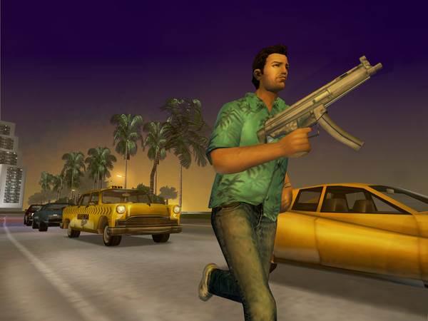 game bắn súng Grand Theft Auto Vice City
