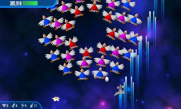 game Chicken Invaders