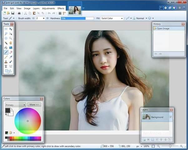 Phần mềm chỉnh sửa ảnh