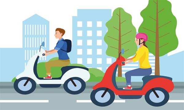 Phần mềm luyện lái thi bằng xe máy