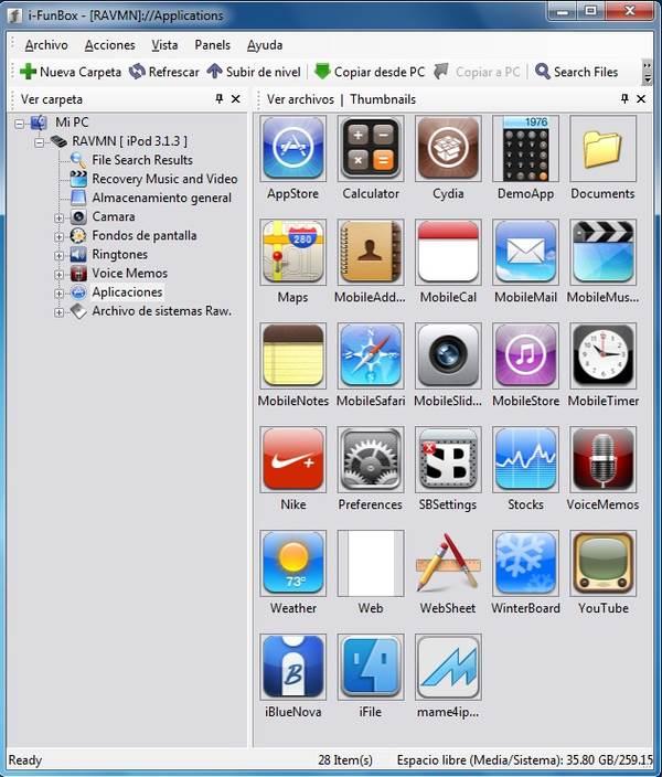 ứng dụng iFunbox